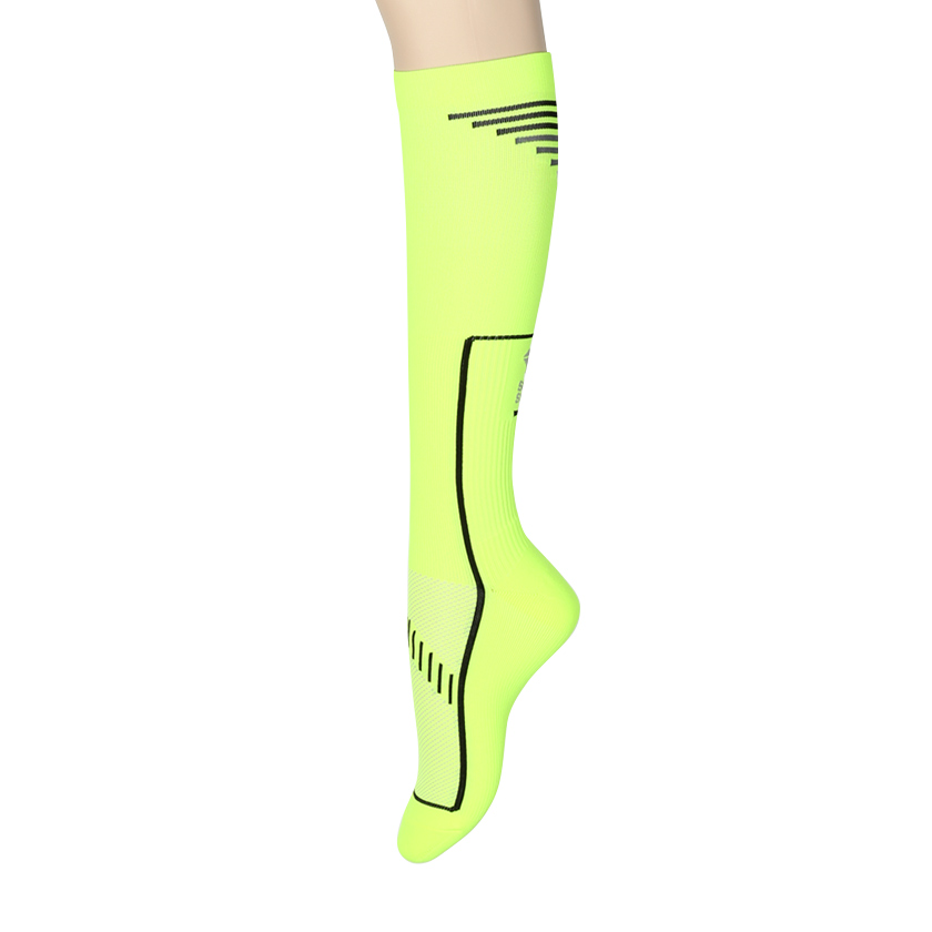 (for Men) 2014 Compression Socks: NeonSOOTY SMITH