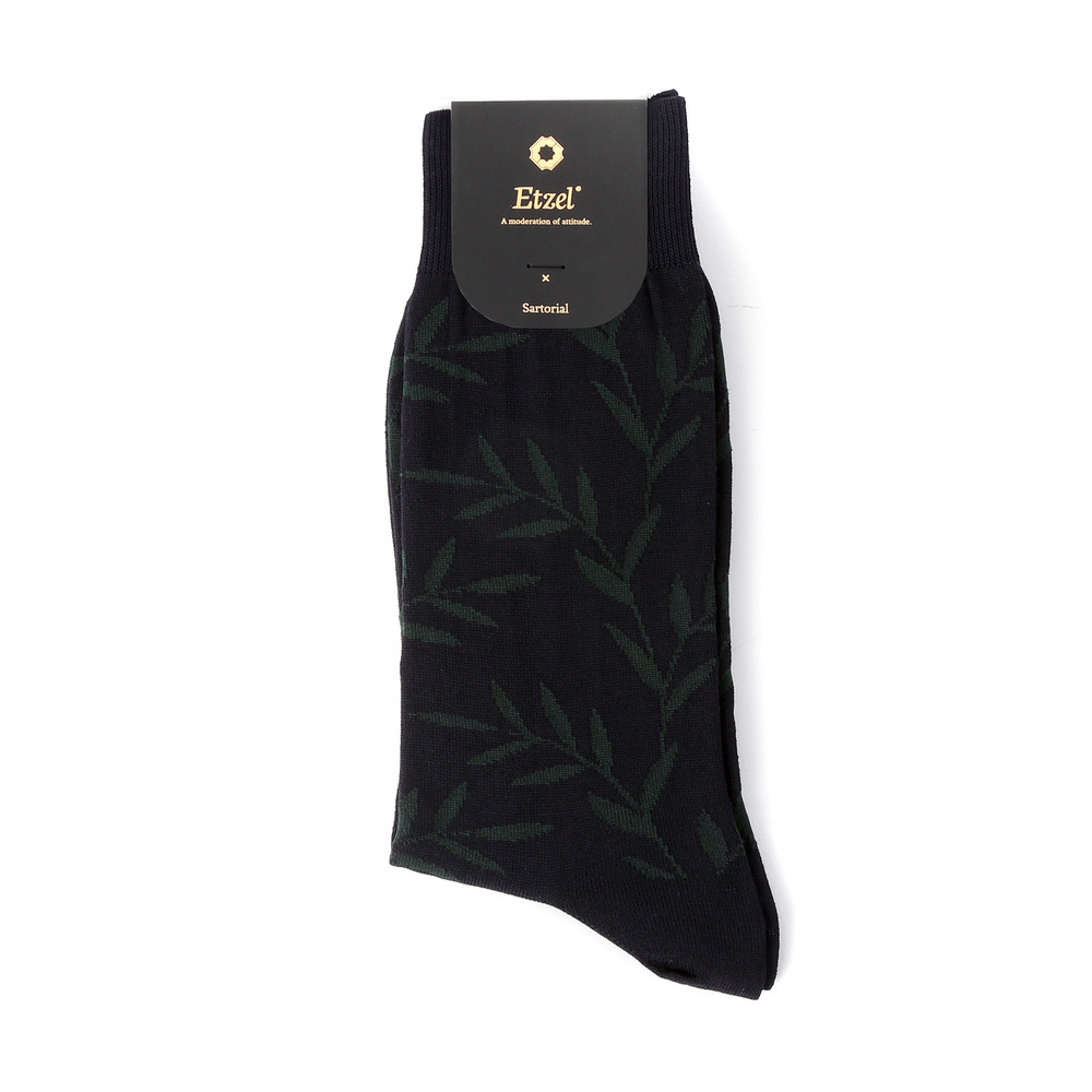 Sartorial: Leaf Dress Socks (2colors)Etzel