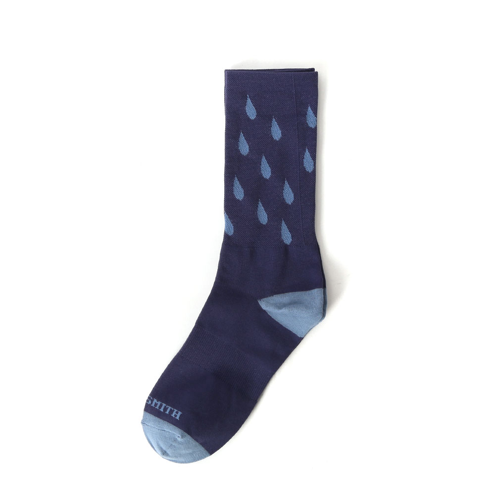 Pedaler Crew Socks: PerspirationSOOTY SMITH