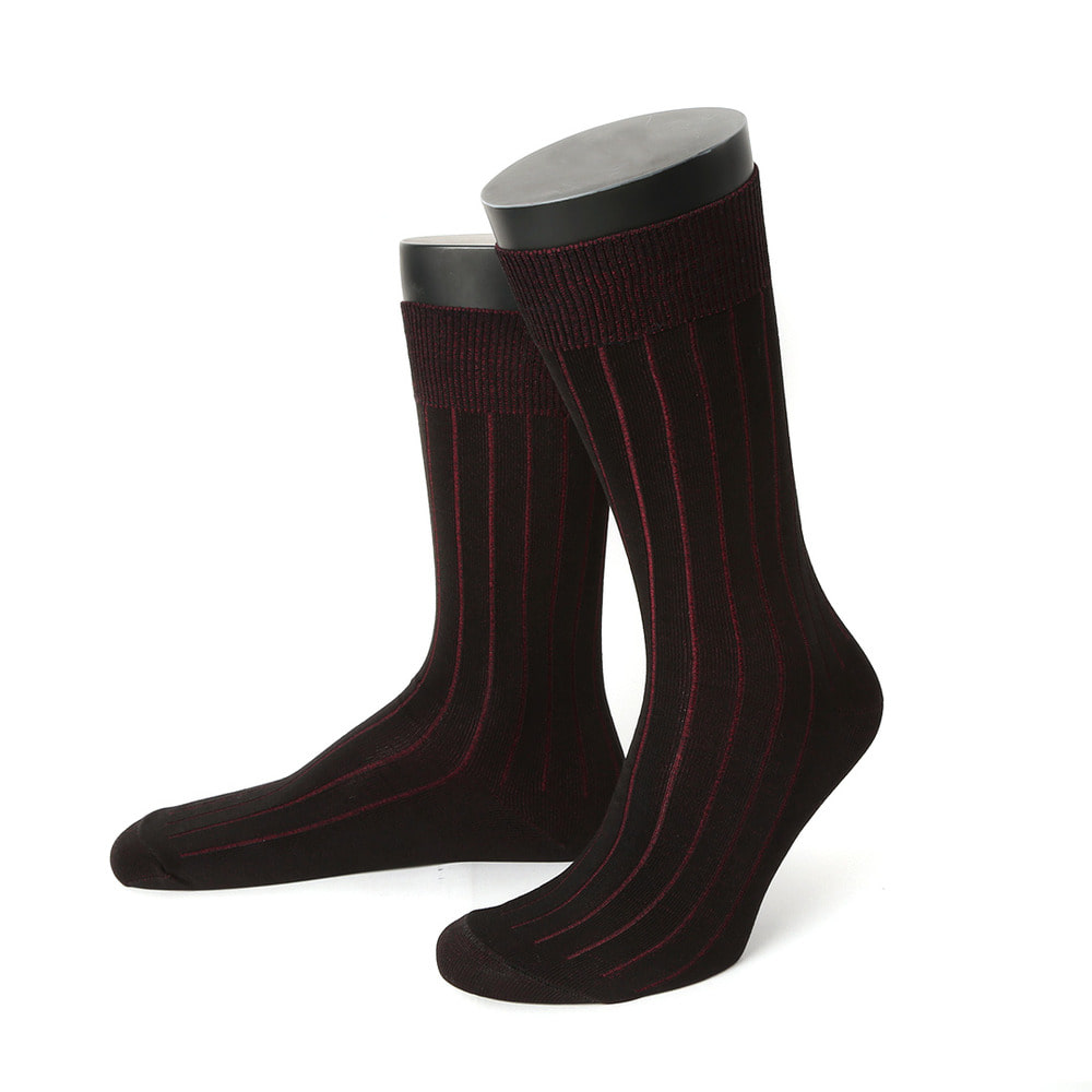 EMC001 Ribbed Socks (6colors)EDWARD MAX