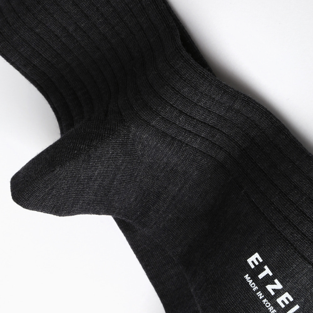 ETS002 Sartorial: Merino Wool Rib Socks (5colors)Etzel