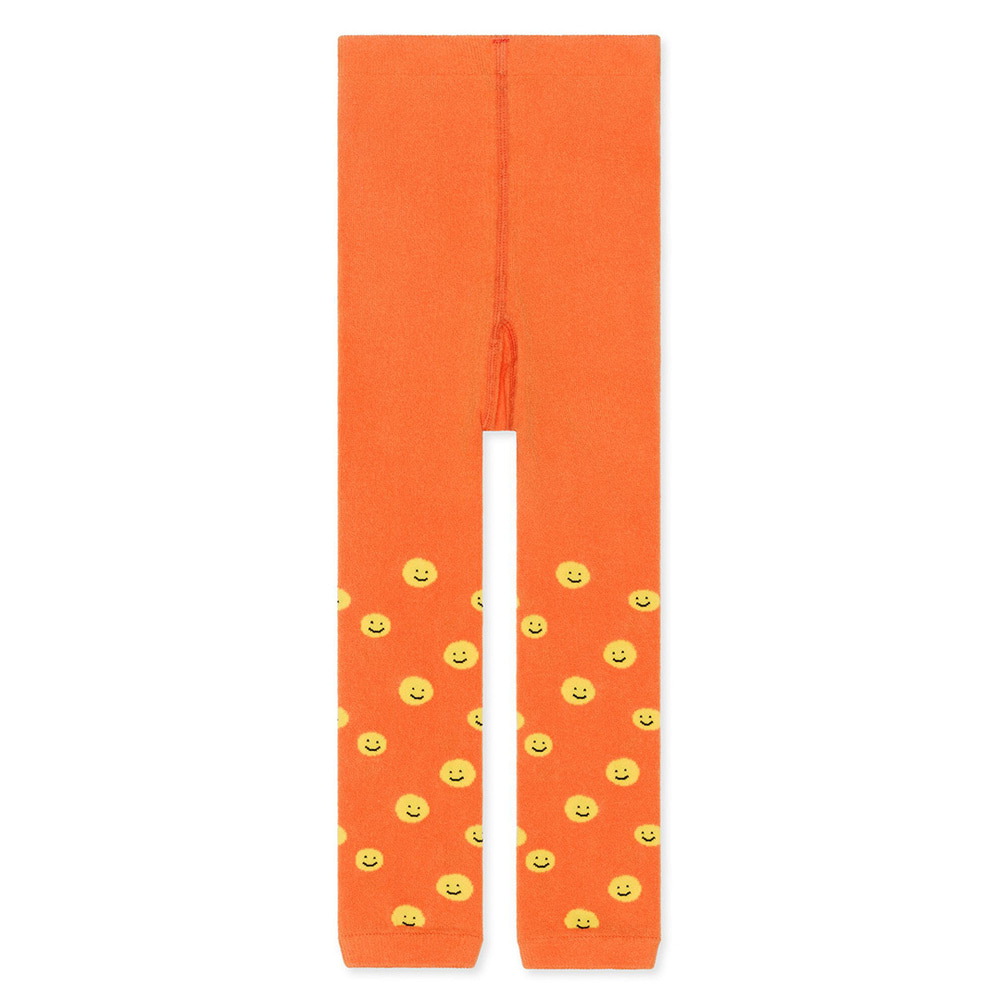 HFB053 Mini happy smiles leggings : peachHANSEL FROM BASEL