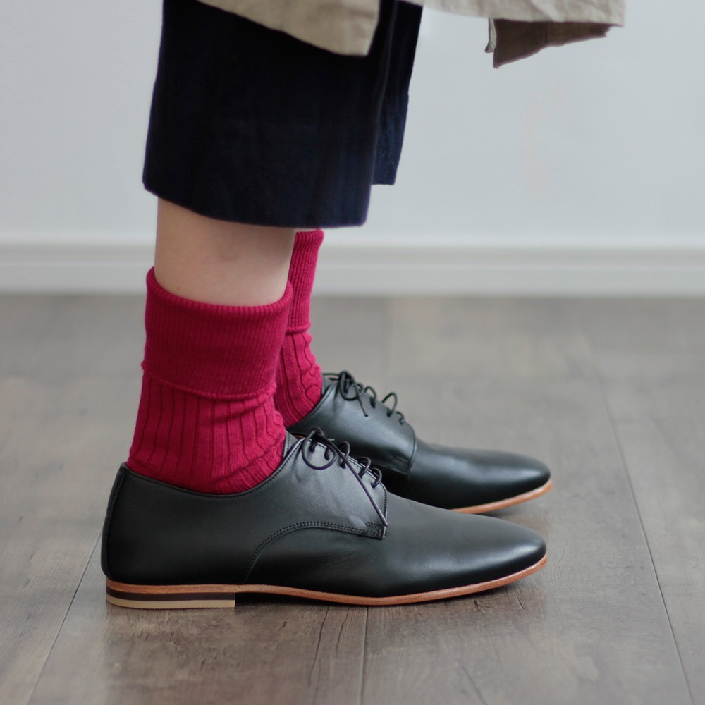 HCU020 Wool Rib Socks (3colors)HACU