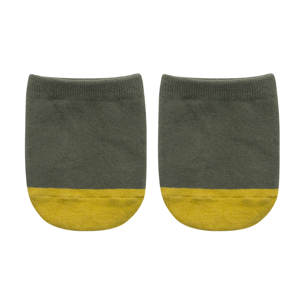 SAP302 Half : solid oliveSocks Appeal