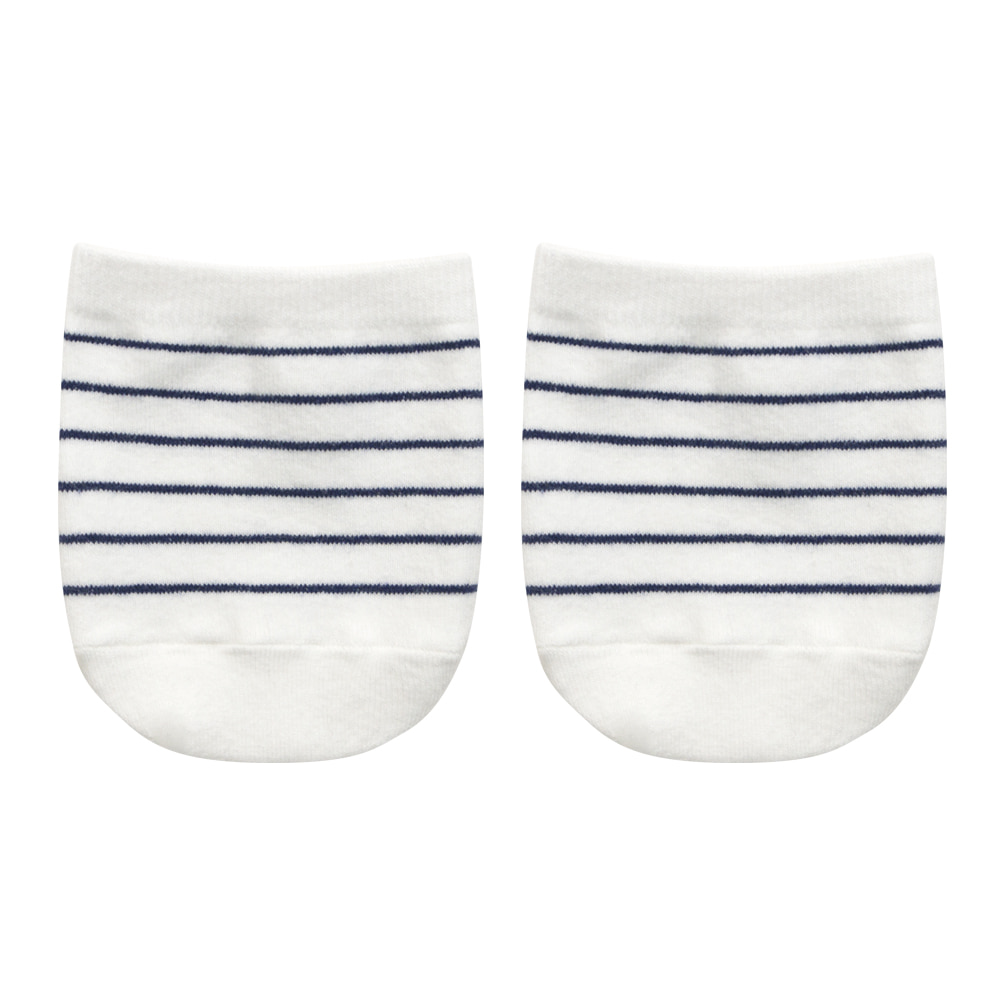 SAP306 Half : stripe whiteSocks Appeal