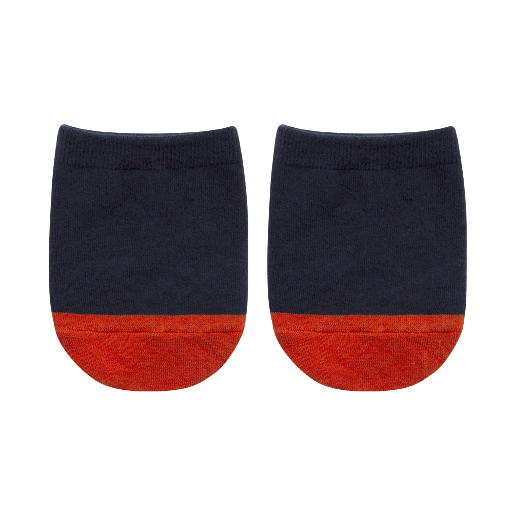 SAP301 Half : solid navySocks Appeal