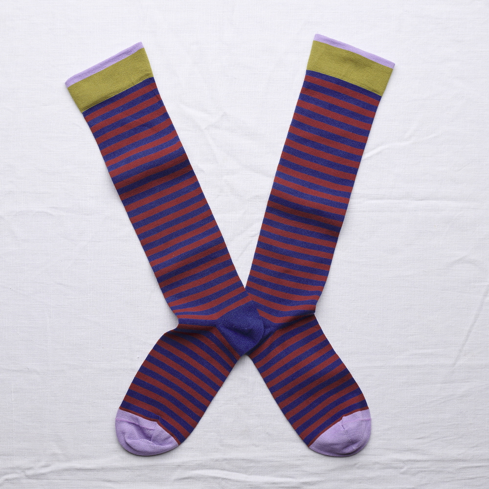 SO111 Knee High Matisse StripeBonne Maison