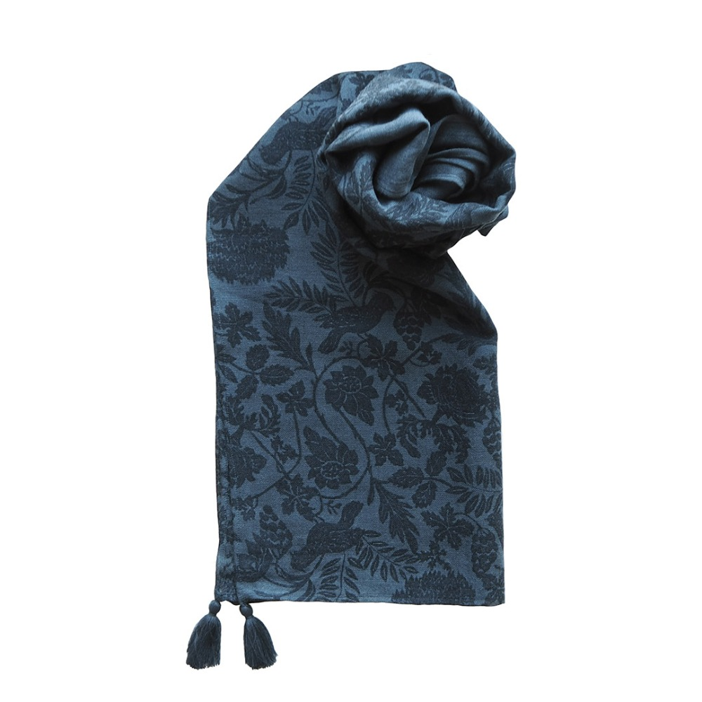 MSB259 India Wool Scarf 06 Vee (2colors)MAISON BLANCHE