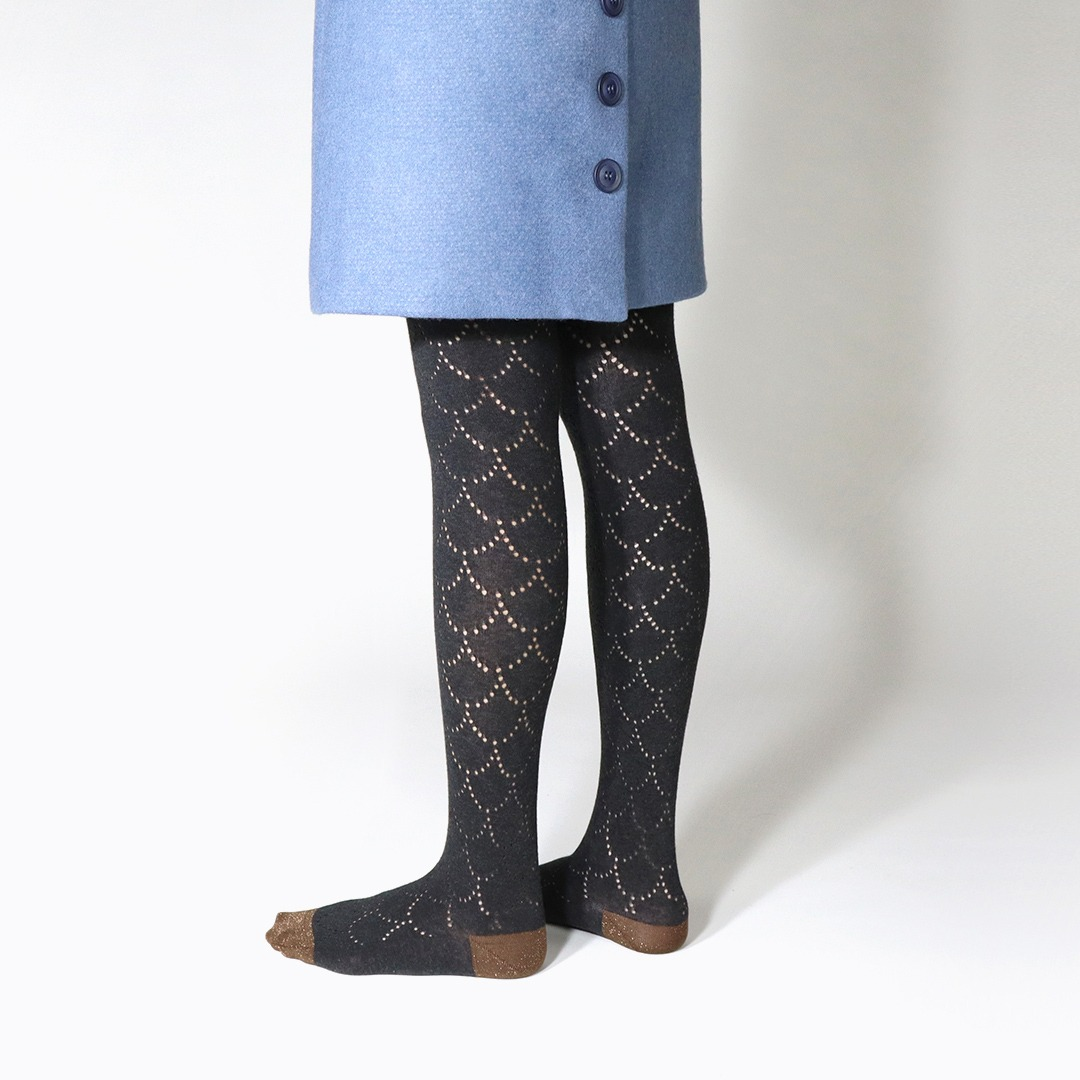 KRB050 Poisson Cotton Tights (2colors)KURI BOTELLA