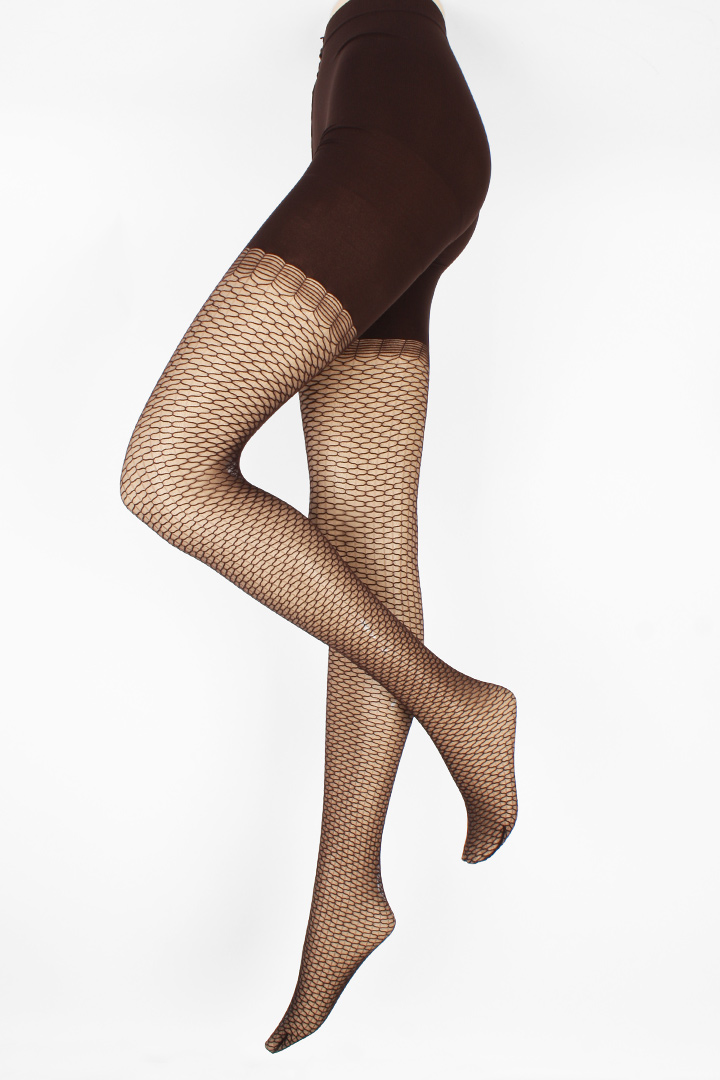 (20D) GEO-NET TIGHTS socks