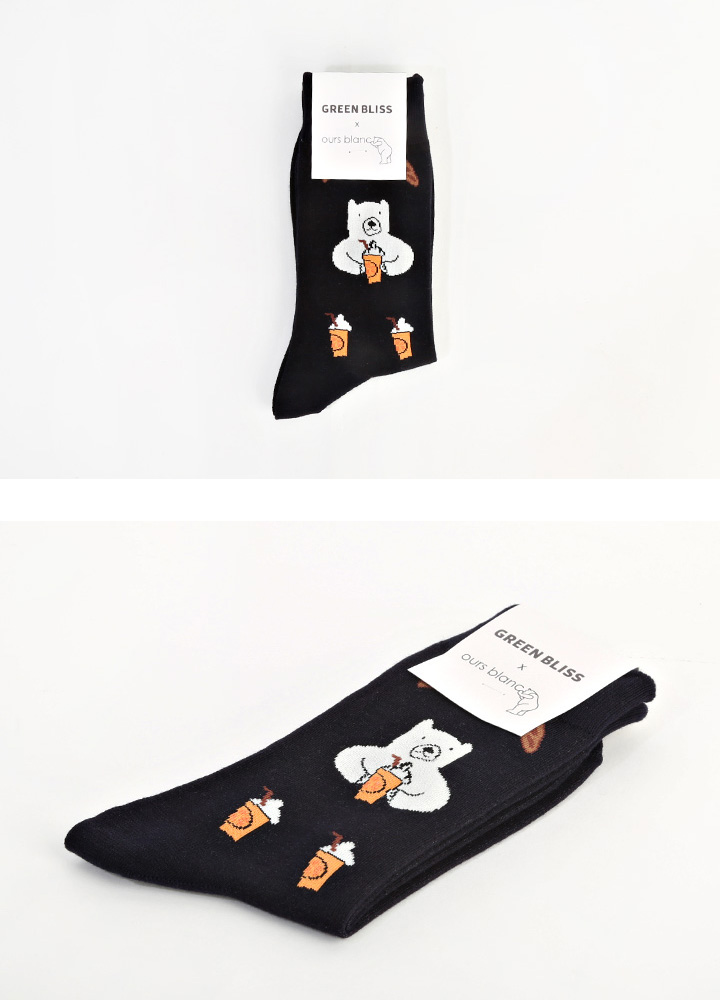 OURS BLANC Grapefruit Juice socks