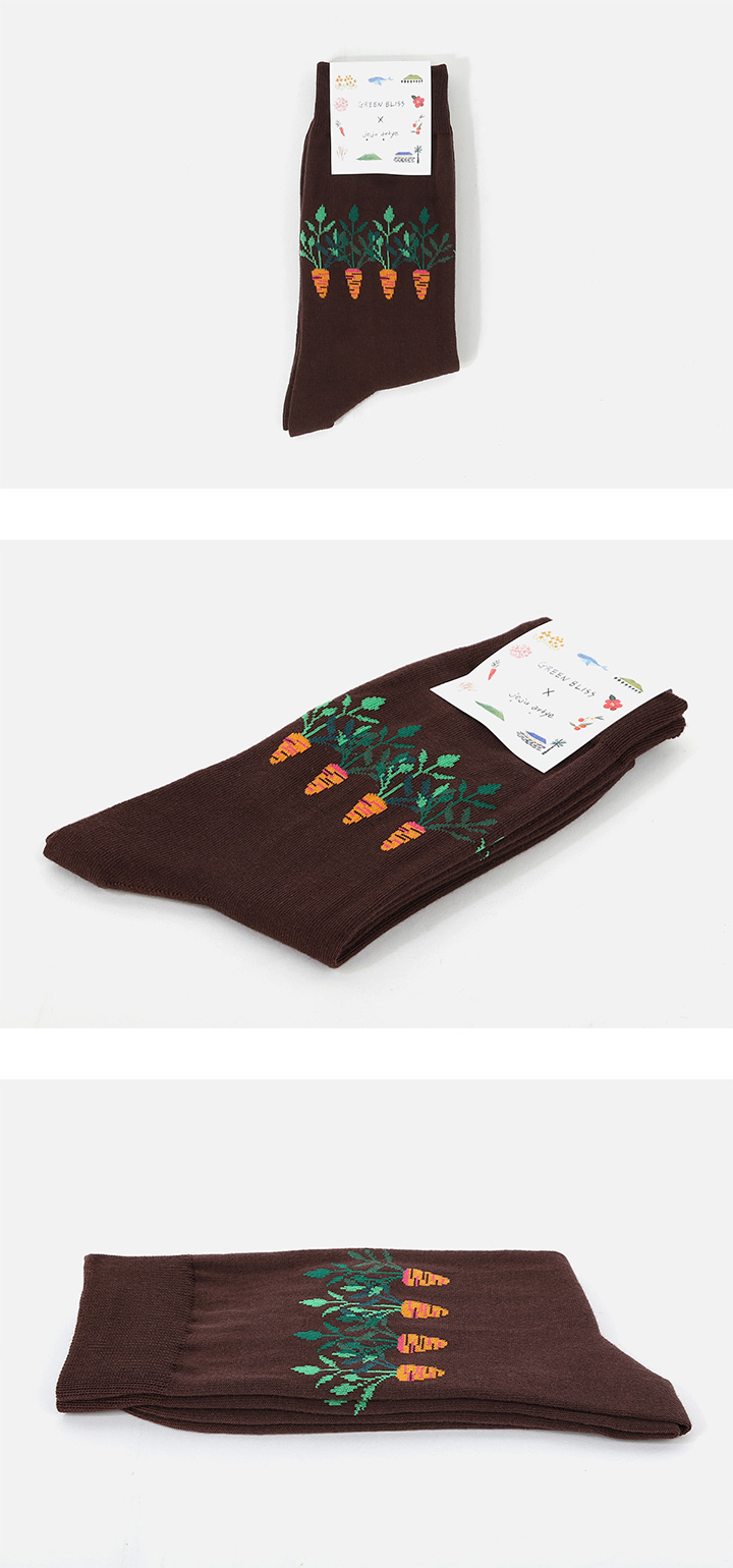 Jeju artye Carrot socks