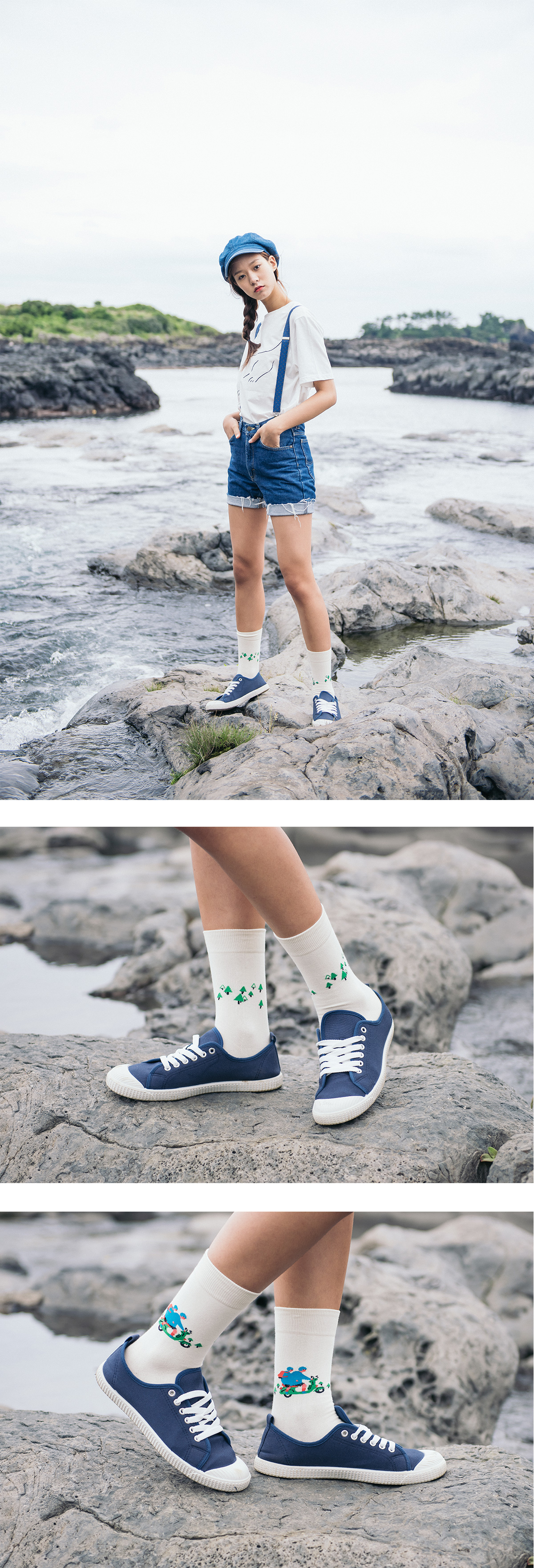 NABULBAE How to travel to Jeju 2 (Scooter) socks