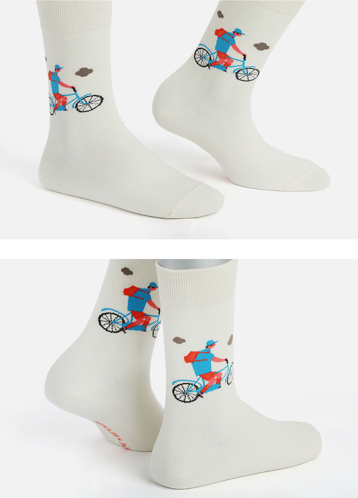 NABULBAE How to travel to Jeju 1 (Bicycle) socks