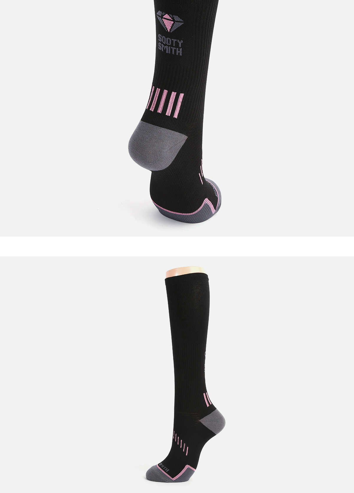 (for Woman) Compression Socks: BLACK socks