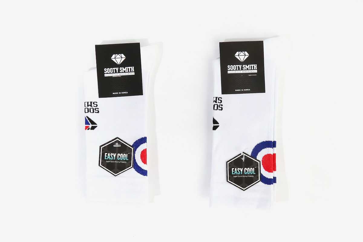 Pedaler Crew Socks: NO PAIN NO GAIN (GSE Edition) socks