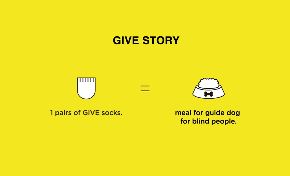 socks appeal X GIVE