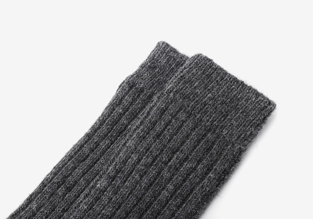 SSTZ Cashmere Winter Rib Socks