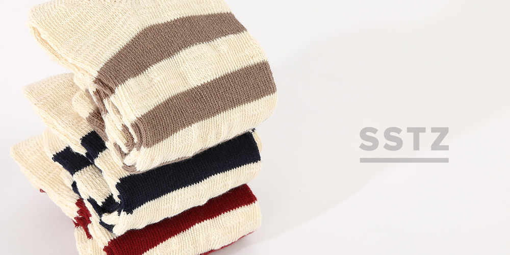SSTZ CRINKLE STRIPE SOCKS
