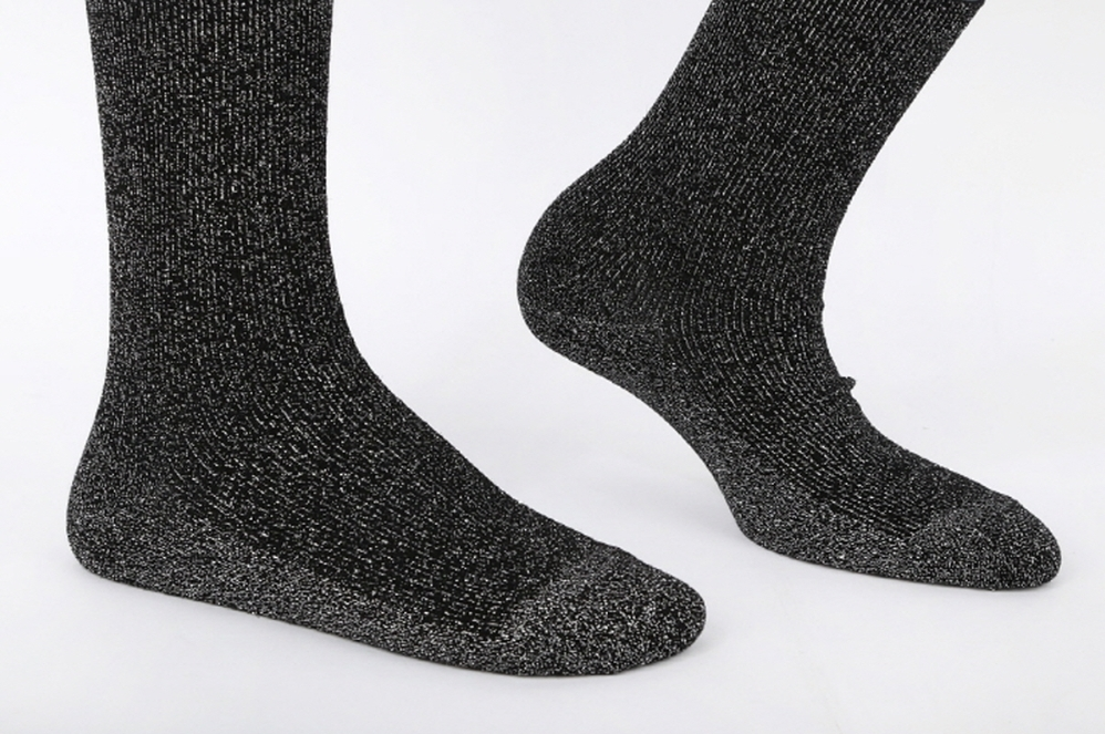 SSTZ Lurex Glitter Shiny Socks