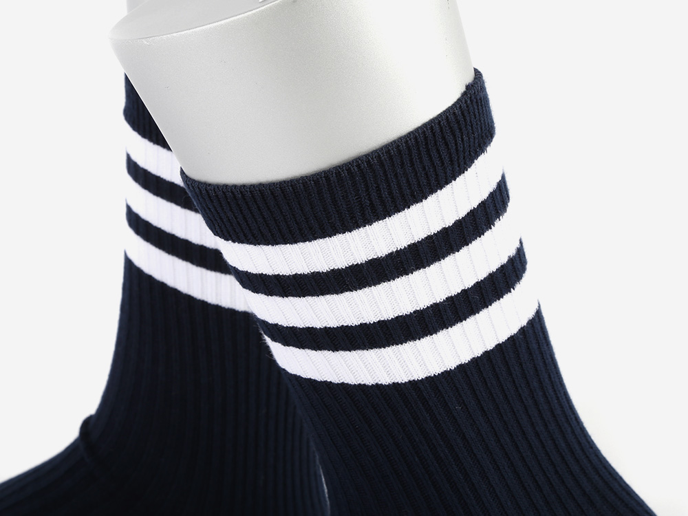 SSTZ SCHOOL STRIPE SOCKS NAVY