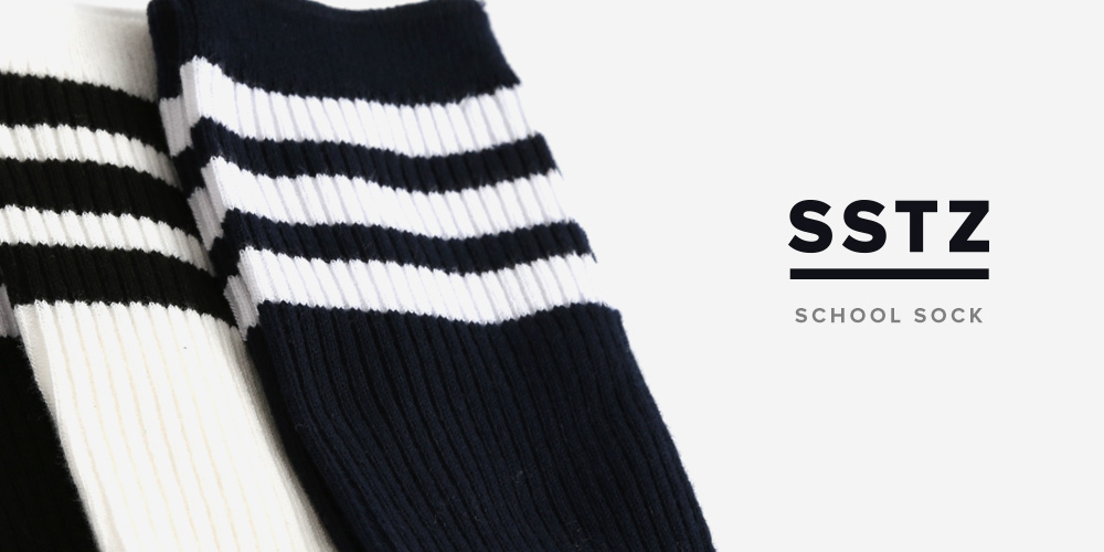 SSTZ SCHOOL STRIPE SOCKS
