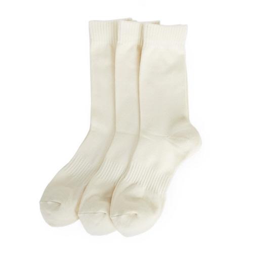ATHLETIC SOCK (pure cotton) 3EA