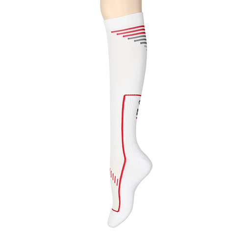 (for Men) 2014 Compression Socks: WhiteSOOTY SMITH