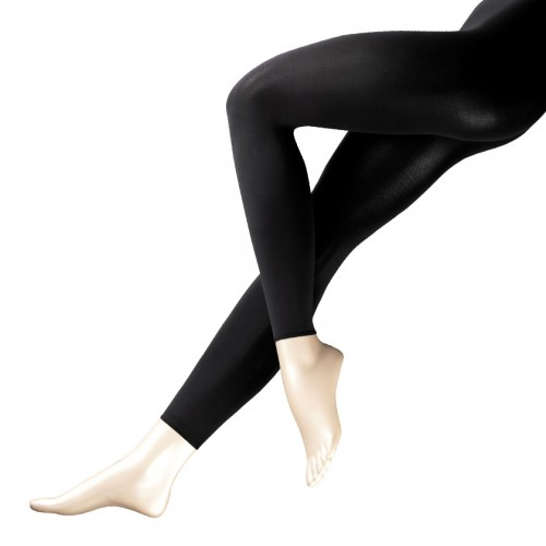 FALKE Pure Matt 100 Leggings: blackFALKE