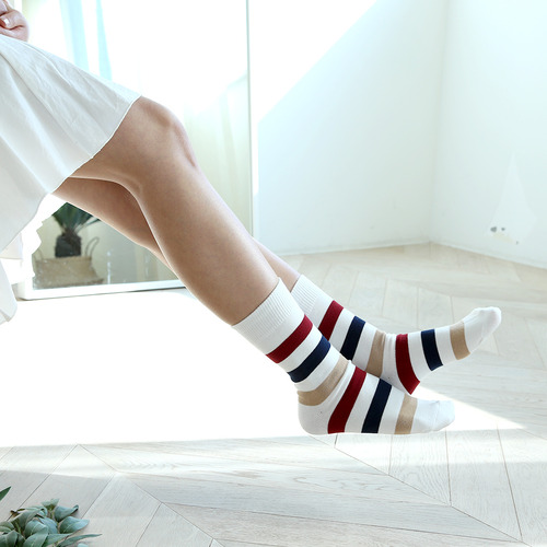 SSTZ Border Stripe : retro flagSOCKSTAZ
