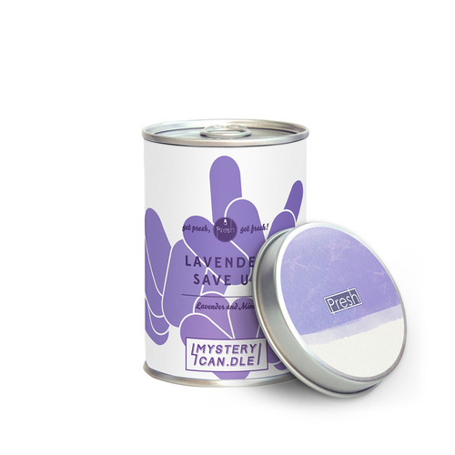 LAVENDER SAVE US 라벤더 MEDIUMMystery Can.dle