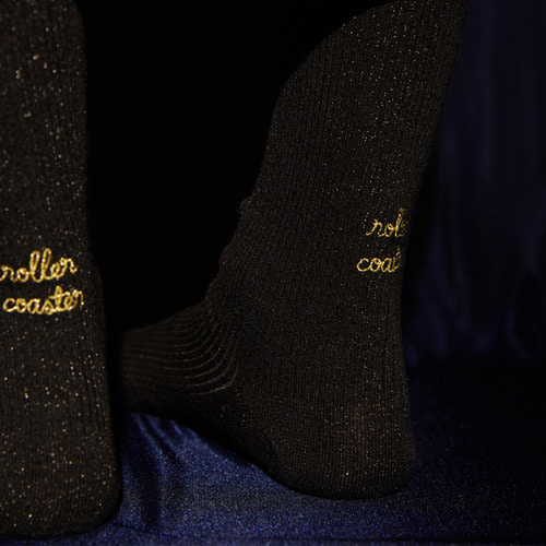 [NEUL X Socks Appeal] roller coaster (black)Socks Appeal
