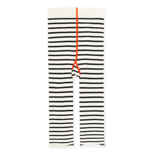 HFB033 Yachtsy Stripe Leggings : IvoryHANSEL FROM BASEL