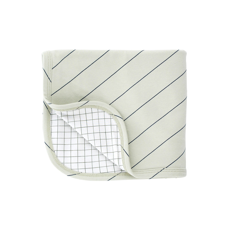 TNC048 Diagonal stripes blanketTINY COTTONS