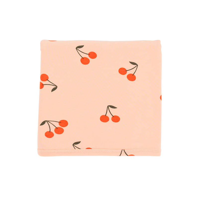 TNC049 Cherries blanket : NudeTINY COTTONS
