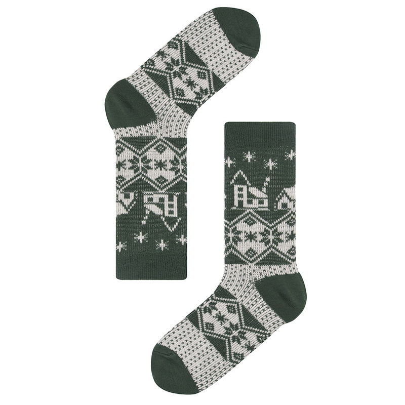 SAP186 warm snowy townSocks Appeal