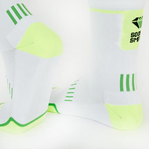Pedaler Crew Socks: Neon