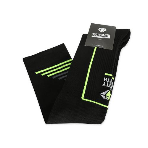 (for Men) 2014 Compression Socks: Black