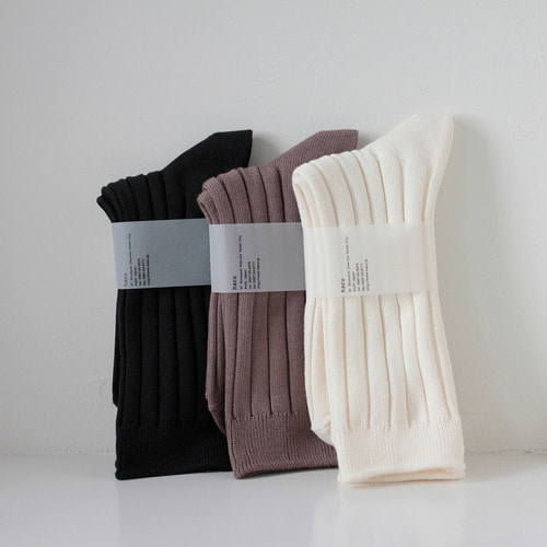 HCU022 cotton100% rib socks (4colors)HACU