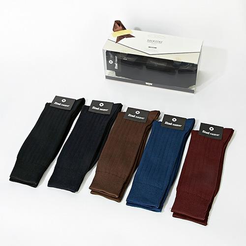 [20% ����] Etzel Mercerized Dress Socks SET <br> rib